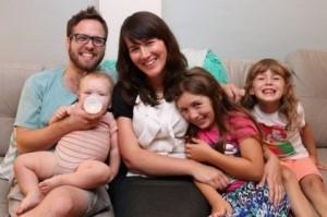 Andrew Linscott & family