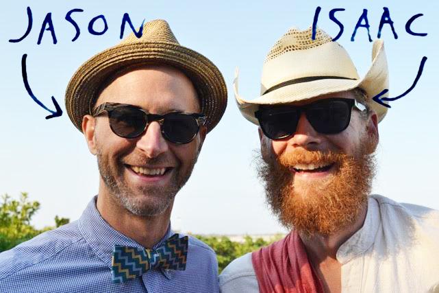 Jason McLin and Issac Eddy