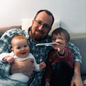 David Nagel & kids